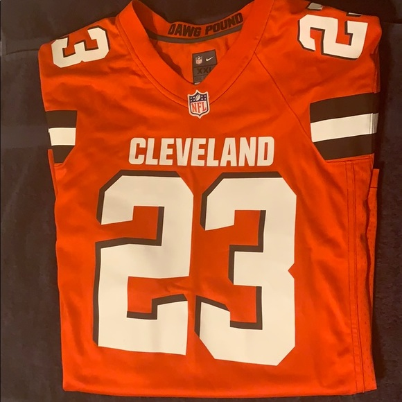 low priced 369e1 b3a21 Joe Haden Brown's Jersey